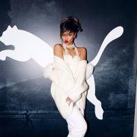 Rihanna fala sobre previsões para 2015 e seu envolvimento com a moda. Confira!
