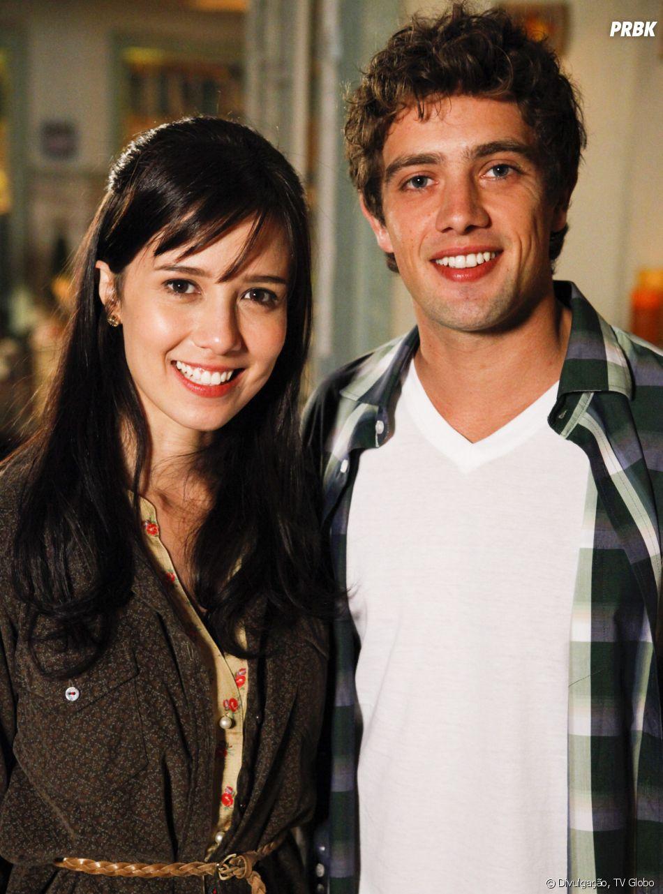 """Em """"A Vida da Gente"""", Manuela acaba se apaixonado por Rodrigo, ex de sua irmã, Ana"""
