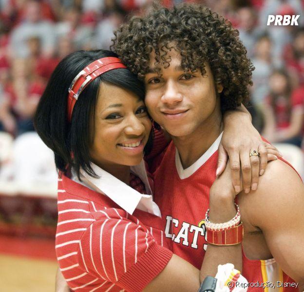 """Chad (Corbin Bleu) e Taylor (Monique Coleman) são dois personagens negros em """"High School Musical"""" que não tiveram o destaque necessário"""