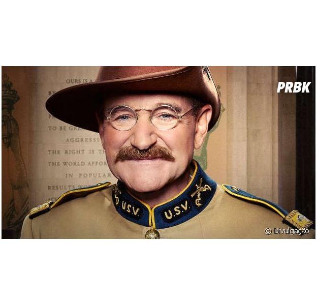 """Robin Williams contracena com Ben Stiller em """"Uma Noite no Museu 3"""""""