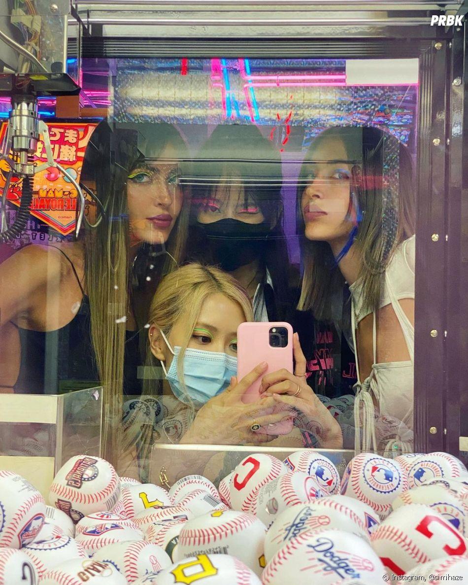 Jennie e Rosé, do BLACKPINK,   já apareceram em post das irmãs   Simi & Haze
