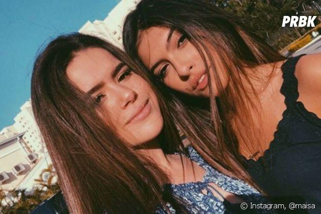 Maisa e Fernanda Concon se declaram nas redes sociais sempre