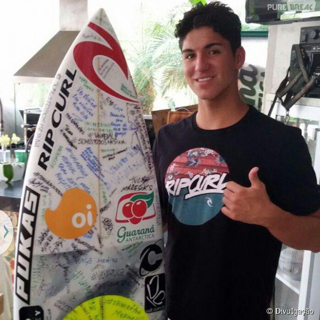 Gabriel Medina pode ganhar o título de Campeão Mundial de Surf
