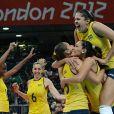 Em uma final marcante, o time feminino de vôlei do Brasil conseguiu o bicampeonato nas Olimpíadas de 2012
