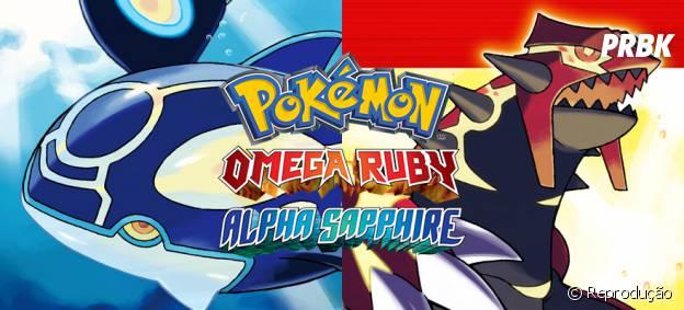 """""""Pokémon Omega Ruby & Alpha Sapphire"""" foi o game mais vendido em 2014"""