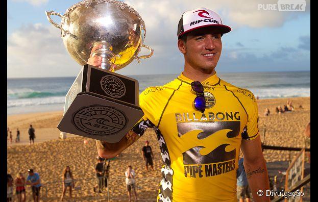 Gabriel Medina é o Campeão Mundial de Surf em 2014