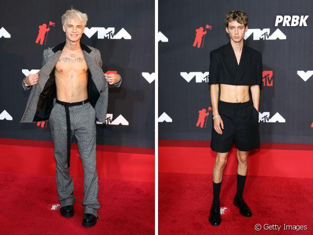 VMA 2021: JXDN e Troye Sivan também mostraram mais pele