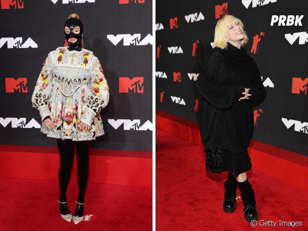 VMA 2021: Kim Petras e Billie Eilish com looks mais originais