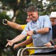 """Bolsonaro cita que, antes de sua eleição, Brasil estava sob uma """"ameaça comunista"""", até então nunca provada pela história"""