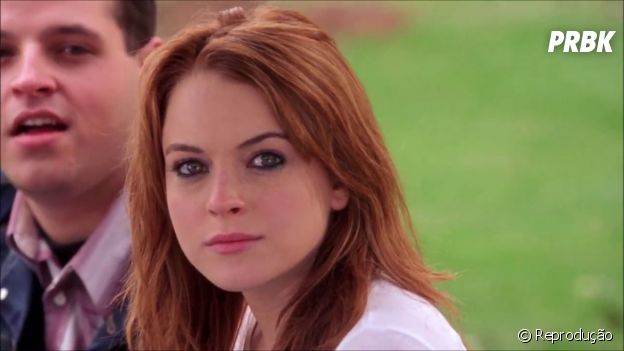 "Cady Heron (Lindsay Lohan) foi a protagonista de ""Meninas Malvadas"""