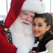 """Ariana Grande confessa que """"Papai Noel me dá repulsa"""" e o Natal não é uma época feliz pra ela"""
