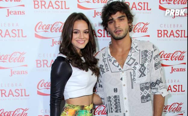 Desde então, Bruna Marquezine Marlon Teixeira são amigos e agora foram vistos se beijando