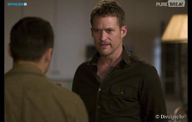 """David (James Tupper) e Jack (Nick Wechsler) unem forças em """"Revenge""""!"""