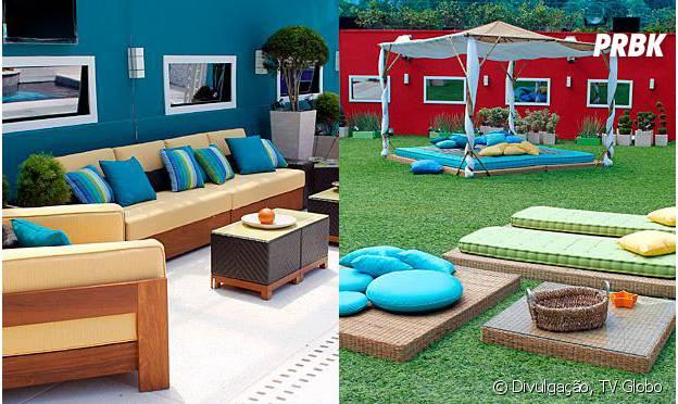 """No """"Big Brother Brasil"""": os temas """"selva"""" ou """"praia"""" foram criados pra decoração do """"BBB12"""""""