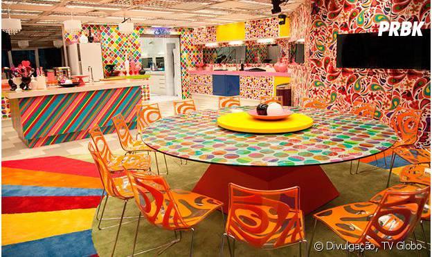 """No """"Big Brother Brasil"""": a casa do """"BBB14"""" ganhou muito colorido"""