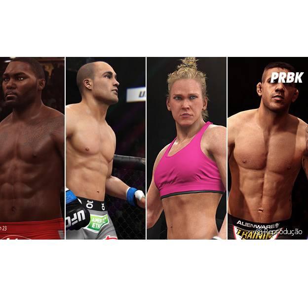 """""""EA SPORTS UFC"""" adiciona os 4 últimos lutadores ao jogo"""