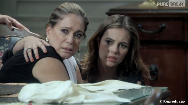 """Pilar (Susana Vieira) e Paloma (Paolla Oliveira) ficarão chocadas em """"Amor à Vida"""""""