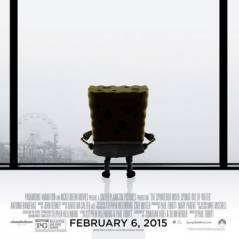"""Filme """"Bob Esponja 2"""": Novos cartazes fazem piada com """"50 Tons de Cinza"""" e outros"""