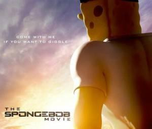 """""""Bob Esponja - Um Herói Fora D'Água"""" também tem um novo cartaz especialmente zuando """"O Exterminador do Futuro: Gênesis"""""""