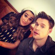 """Em """"Glee"""": Rachel (Lea Michele) e Sam juntos? Veja gifs que vão te fazer torcer pelo casal Samchel!"""