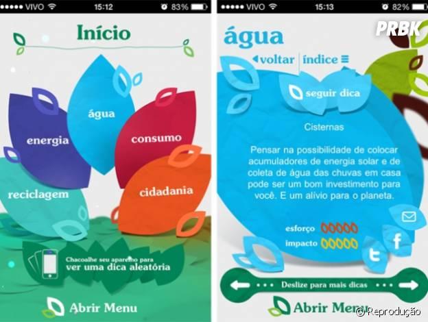 """Aplicativos para economizar água: """"Manual de Etiqueta Sustentável"""""""