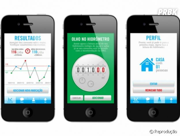 """Aplicativos para economizar água: """"Da Sua Conta"""""""