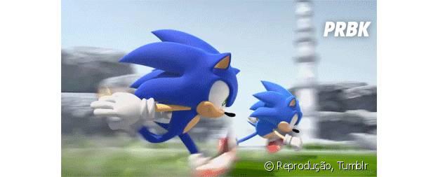 Correr tão rápido quanto o Sonic
