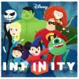 """""""Disney Infinity"""" feito por Karina Pérez e postado no Behance"""
