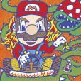 """""""Mario Kart"""" feito por Cuauhtemoc Wetzka e portado no Behance"""