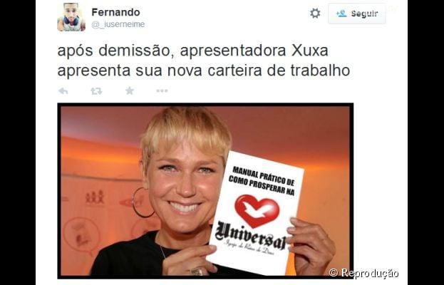 Xuxa vira rainha da internet depois de notícia da mudança para a Record