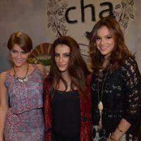 """Bruna Marquezine e Isabella Santoni, de """"Malhação"""", se encontram em evento de moda!"""