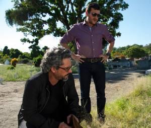 """Em """"Império"""", José Alfredo (Alexandre Nero) pede para Josué (Roberto Birindelli) ir com ele visitar Cora (Marjorie Estiano)"""