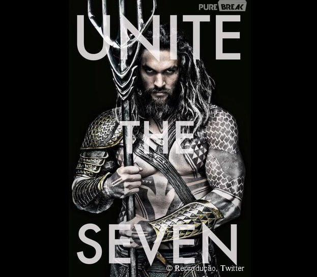 """Jason Momoa como Aquaman, em """"Batman V Superman: Alvorecer da Justiça"""""""