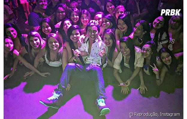MC Biel faz sucesso com as fãs de todo o Brasil