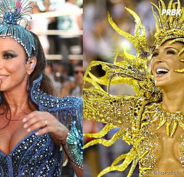Ivete Sangalo e Cládia Leitte no carnaval 2015