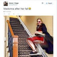 BRIT Awards 2015: Madonna cai durante performance e vira meme na internet!