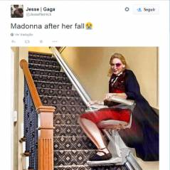 BRIT Awards 2015: Madonna cai durante performance e vira meme na internet!