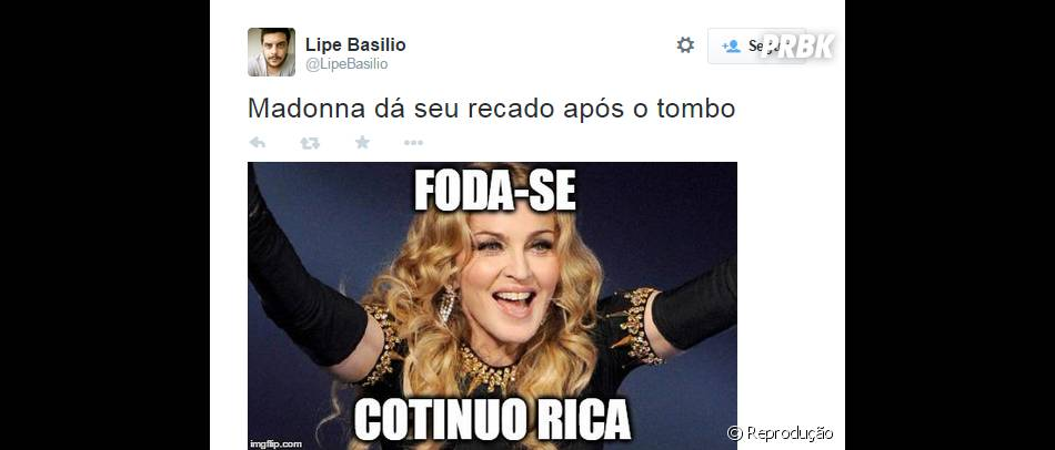 Não importa, Madonna será sempre Madonna!