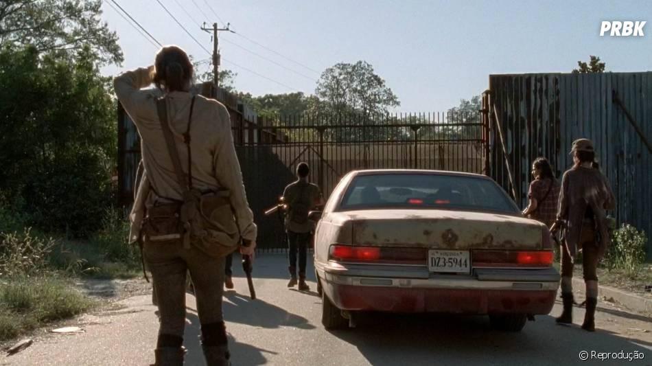 """Em """"The Walking Dead"""", os mocinhos encaram a entrada para uma nova vida"""