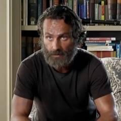 """Em """"The Walking Dead"""": Na 5ª temporada, Rick (Andrew Lincoln) assusta com nova posição!"""