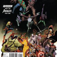"""Os heróis de """"Guardiões da Galáxia"""" e """"Os Vingadores"""" se unem em nova HQ"""