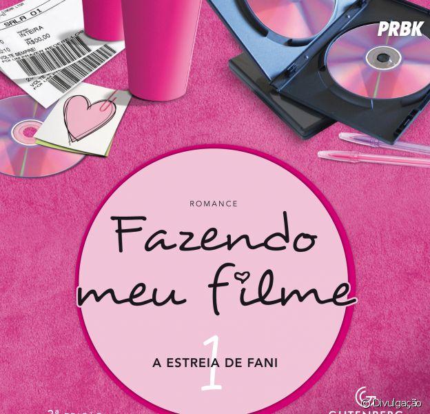 """O livro """"Fazendo Meu Filme 1"""" conta o início da história de Fani, Leo e seus amigos em Belo Horizonte"""