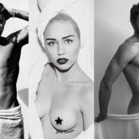 Miley Cyrus, Cauã Reymond e as 10 melhores fotos dos famosos de toalha para Mario Testino