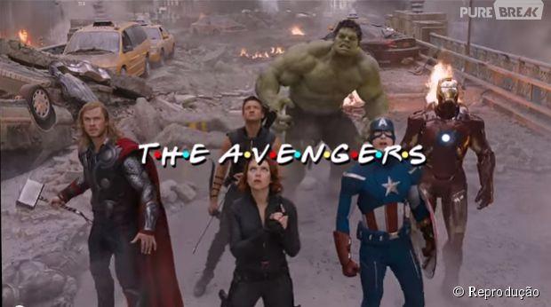 """""""Os Vingadores 2"""" ganha paródia inspirada em """"Friends"""""""