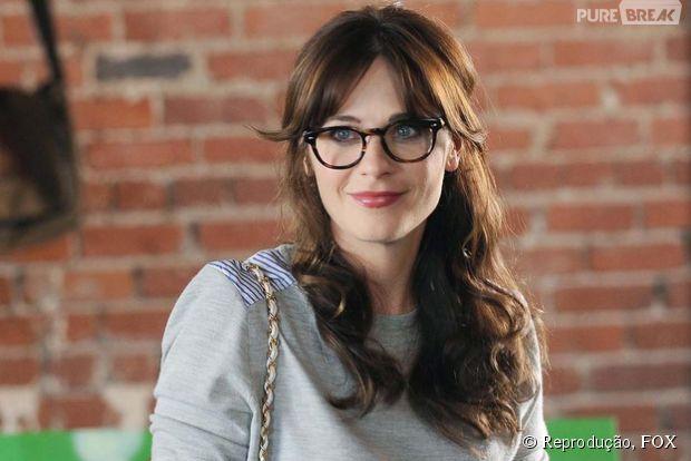 """Na série """"New Girl"""", saiba o destido de Jess com a gravidez de Zooey Deschanel"""