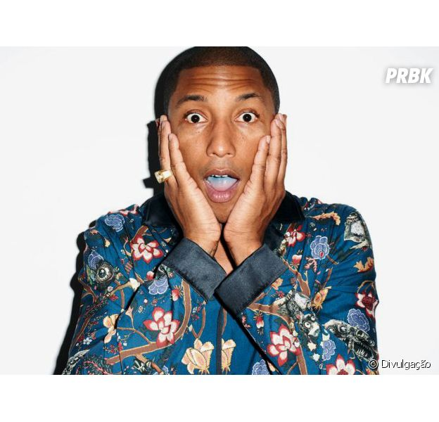 Pharrell Williams é uma das atrações do Lollapalooza 2015