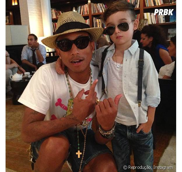 Fã mirim do Pharrell Williams arrasa no estilo