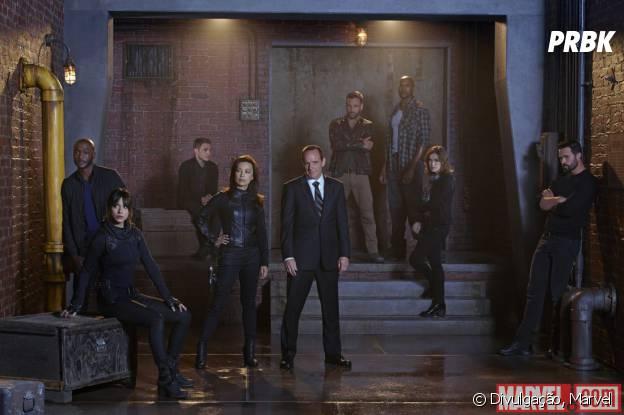 """""""Agents of SHIELD"""" atualmente está em sua segunda temporada nos EUA"""
