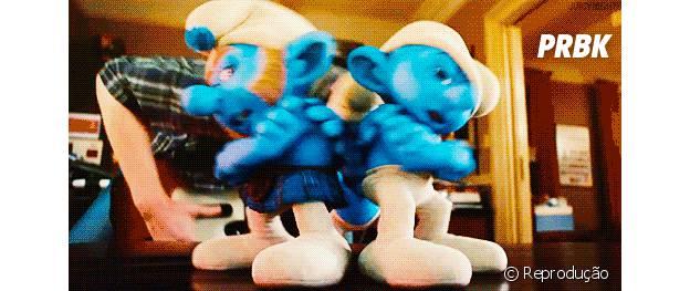 Os Smurfs em seus momentos de fofuras
