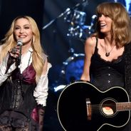 """Madonna e Taylor Swift fazem dueto épico de """"Ghosttown"""" no iHeartRadio Music Awards 2015"""